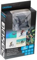 GRUNDIG Action Cam Pro Full HD WiFi | Wasserdicht bis 30m | Objektiv bis 170° | Full HD 1080p