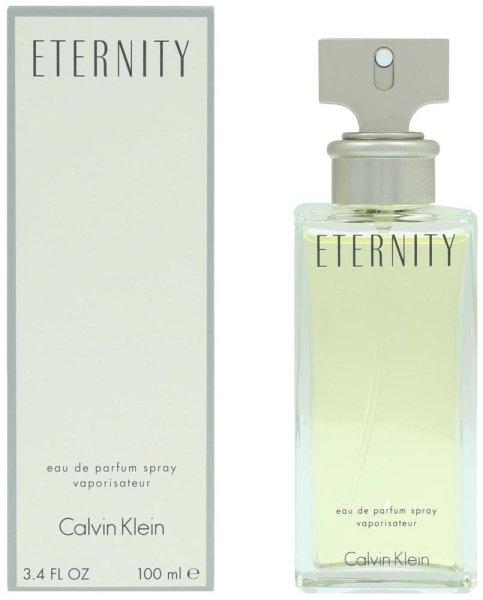 Calvin Klein ETERNITY Women Parfum | 100ml Eau de Parfum mit Vaporisator, feiner Damenduft