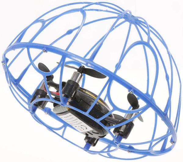 RayLine® RC Quadrocopter X3A blau | Agile, kompakte Drohne mit 6-Achsen Gyroskop & Tumbler Mode