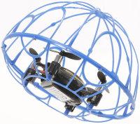 RayLine® RC Quadrocopter X3A blau | Agile, kompakte...