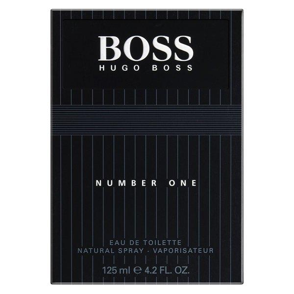 HUGO BOSS Number One EdT for Men | 125ml eines zitrisch blumigen Duftes für Männer