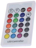 PROGARDEN® LED-Leucht-Kubus groß   Wiederaufladbar   inkl. Fernbedienung   7 Farben wählbar
