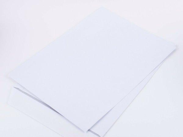 Versandtasche C4 ohne Fenster, 100g | 500 Versandtaschen C4, Haftklebung, Öffnung lange Seite