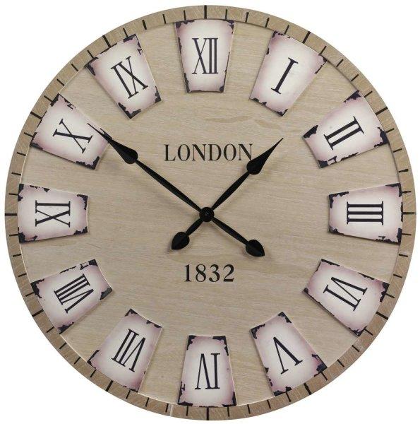 ARTI CASA Design-Wanduhr XXL London | Auffallende Optik, gigantische Ø 80cm, römische Ziffern
