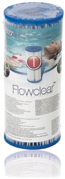 Bestway® Flowclear Filterkartusche 6er-Pack| Passend zu unserem Bestway® Pool Fast Set™ 366x76cm