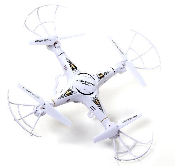 RayLine® Drohne R108 WiFi HD 360°   6-Achsen-Gyro, Auto Return, Headless Mode, Smartphonehalter