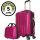 CODE|ONE® Trolley + Beautycase | Glänzend, 3-fach Zahlenschloss, Hartschale