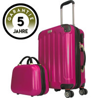 CODE|ONE® Trolley + Beautycase | Glänzend,...