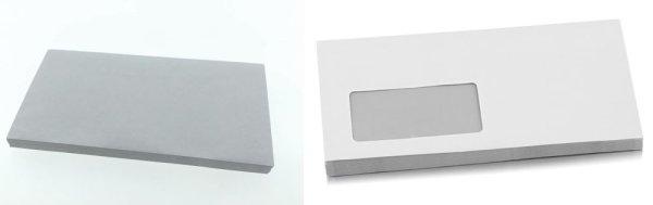 letterei.de Briefhülle DIN C6/5 80g/m²   1.000 Kuverts, Nassklebung, maschinengeeignet 1000 Stück