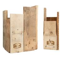 JK ORIGINAL® Papierkorb und Schirmständer Set in asymmetrischem Design