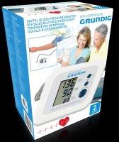 GRUNDIG Blutdruckmessgerät digital | Intelligente Blutdruck-Messtechnologie | Großes LCD-Display