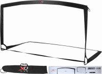 XQ MAX® Mobiles Fußballtor 200cm | Nur 1kg leicht, ohne Werkzeug montierbar, inkl. Tragetasche